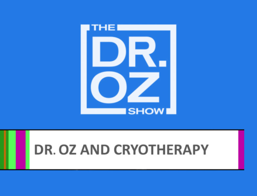 Space Cabin cryosauna in the Dr. Oz Show