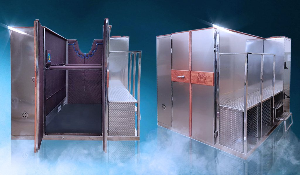 The Space Cabin Horse Cryosauna