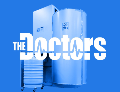 Whole body cryotherapy benefits in The Doctors Show